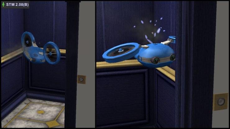 Broken Munchiebot takes elevator autonomously