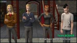 Team BEAKER: Erin, Loki & Circe Beaker, Nervous Subject