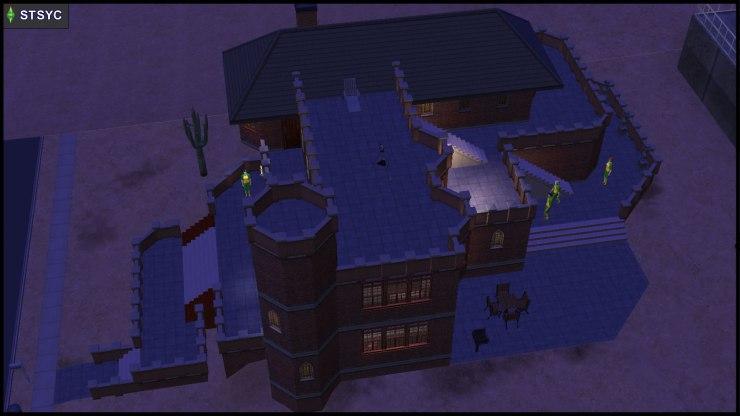 Team Curious invades Beaker Castle