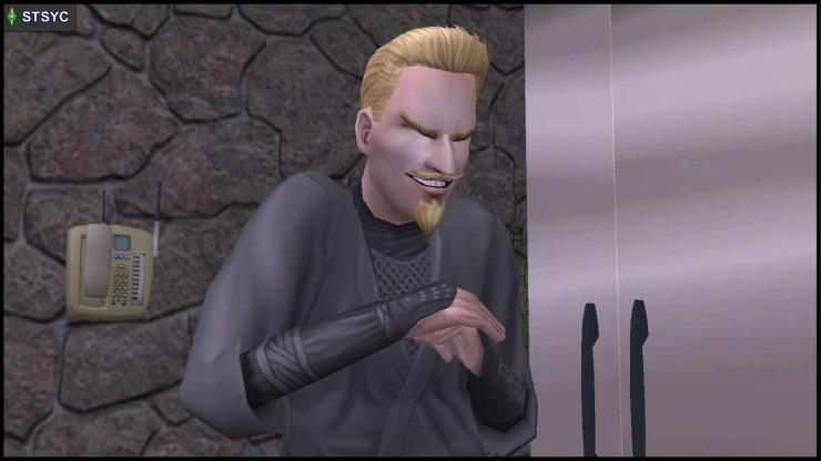 Loki Beaker in extra evil mode