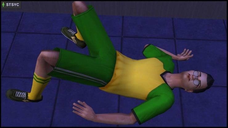 Pascal Curious is unconscious in Beaker Castle