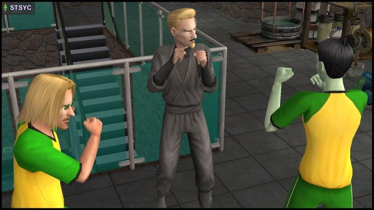 Vidcund Curious & Lola Curious-Smith fight Loki Beaker