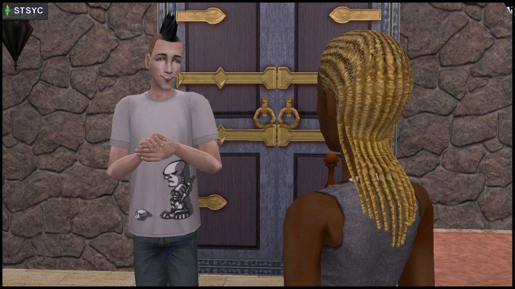 Cousins Nervous Subject & Ophelia Nigmos have their first full conversation