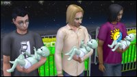 Curious family of 6: Pascal, Vidcund and Lazlo Curious have an alien baby each