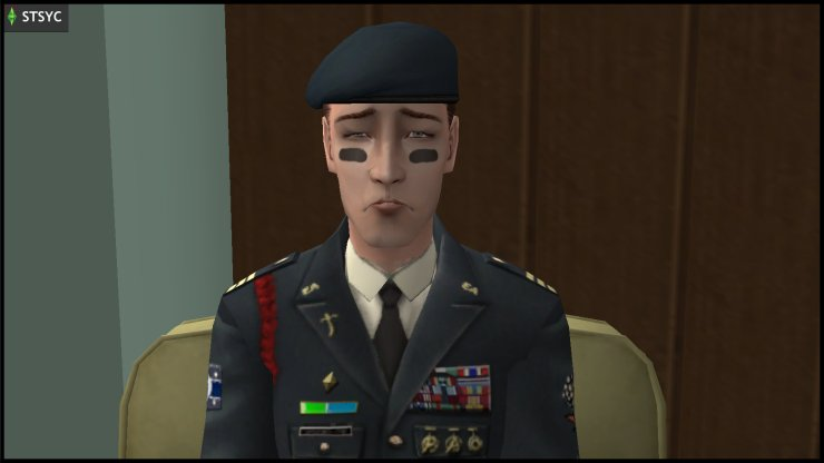 General Buzz Grunt is sad to have lost a son in combat