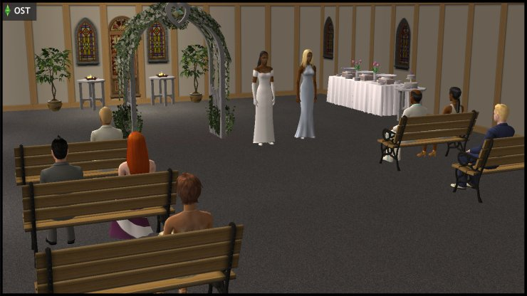 Young Olive Specter (Muenda) first attempt at a wedding