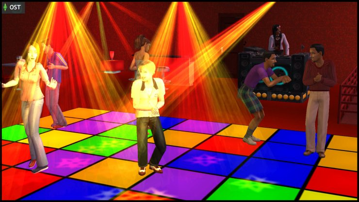 Lou & Hugh Thanasia dance at the nightclub where DJ Spectra (Young Olive Specter) works