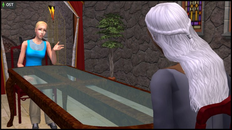 Lyla Grunt consults Olive Specter, the divorce expert