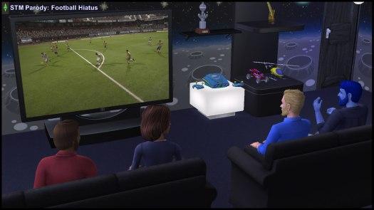 STM Universe Football Hiatus 2018: Dr Prometheus Hyde, Kent Capp, Bianca & Antonio Monty