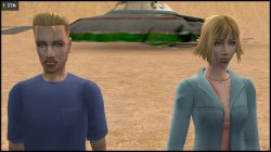 Sims 2 recreated Atom & Ceres Beaker of Oasis Landing