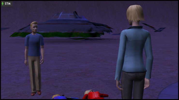 Atom & Ceres Beaker investigate a UFO crash in Lunar Lakes