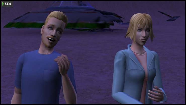 Atom & Ceres Beaker discuss what to do with the bodies they found in the Lunar Lakes UFO crash