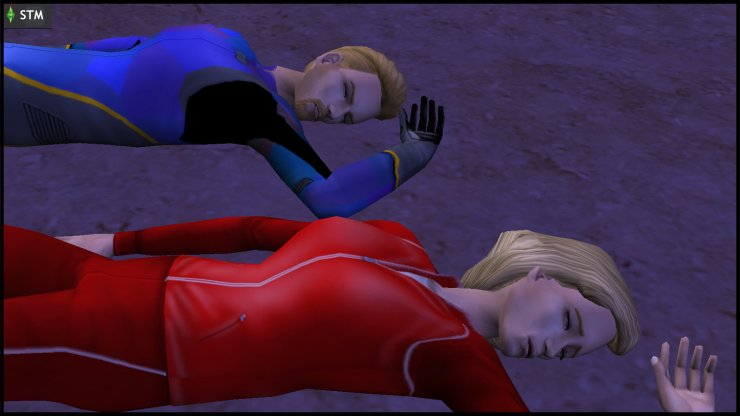 Bella Goth & Colony Don Lothario die in a UFO crash in Lunar Lakes
