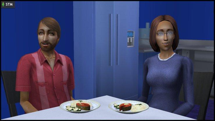 Antonio & Bianca Monty stare agape