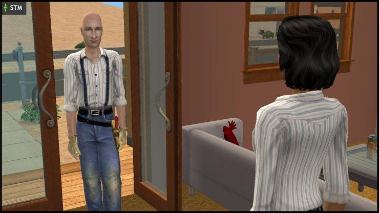 James & Susan Windmark at the door