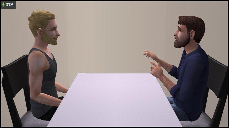 Dr Prometheus Hyde interviews Kent Capp at St Elden's Asylum