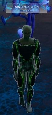 Sims 4 Alien