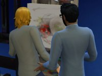 Sims 4 Creating a Confident Painting